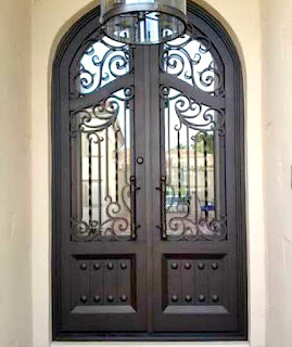 model pintu besi tempa, pintu head besi tempa, pintu double besi tempa (10)