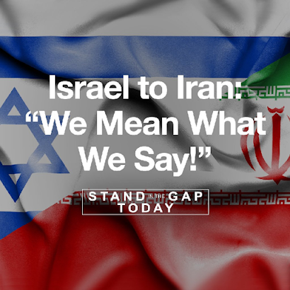"""Israel to Iran: """"We mean what we say!"""""""