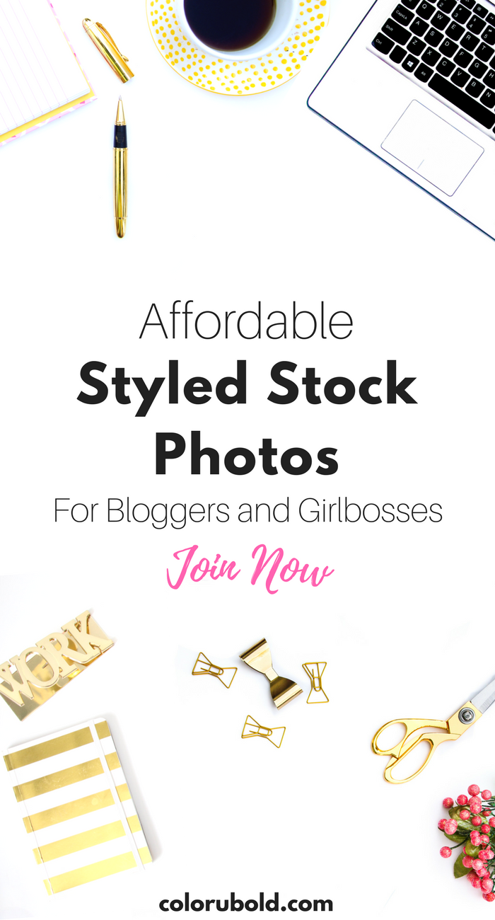 Styled Stock photos shouldn't scare you and neither should the price! That's why I created C.U.B Style Stock Membership. Created to provide high quality photos at affordable prices for bloggers and entrepreneurs. Visuals are important when standing out online! You may not have the time to style and take your own stock photos. This membership is  just $10/month for over 50 styled stock photos  sent you directly each month for download! Click to learn more about the Style Stock Membership!