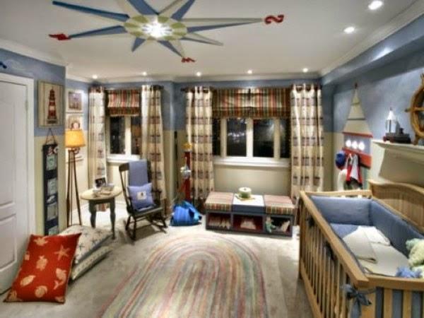 Dormitorios estilo marinero para beb s ideas para for Decoracion barcos interiores