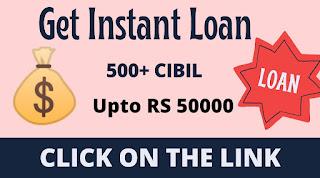 Get Instant Loan upto 50000    Only Aadhaar Card& PAN Card