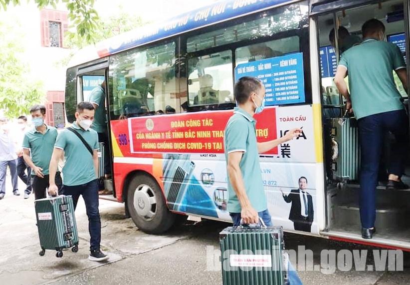 Bắc Ninh hỗ trợ thêm 04 tỷ đồng cho 03 tỉnh phía Nam chống dịch covid-19