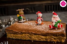 Dessert de Noël - Entremet chocolat noisettes sur base biscuitée - Foodista Challenge #25