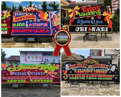 Papan Bunga Lampung Tengah Terlaris