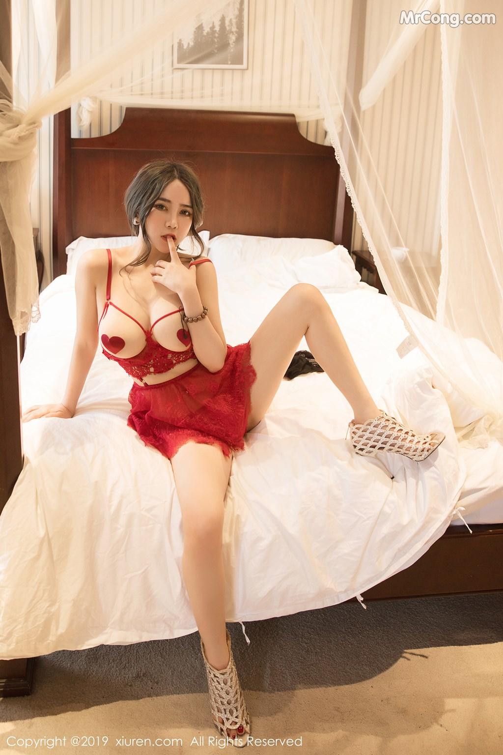 Image XIUREN-No.1403-Wen-Xinyi-MrCong.com-001 in post XIUREN No.1403: Wen Xinyi (温心怡) (41 ảnh)