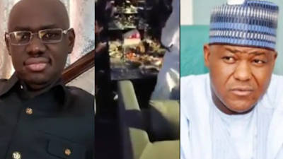 APC Leaks Video Of Hushpuppi Discussing With Dino Melaye, Dogara And Timi Frank
