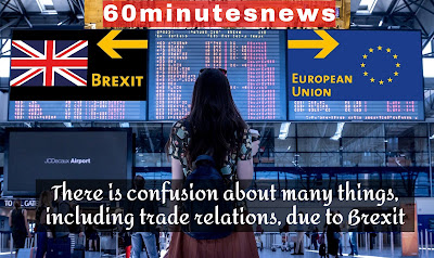There are trade problems between Britain and the United States because of Britain's exit from the European Union