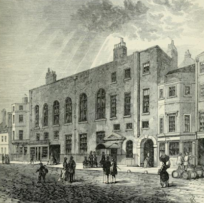 Willis's Rooms from Old and New London by E Walford (1878)