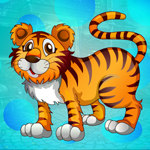 Play Games4King - G4K Winsome Tiger Escape Game