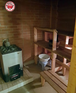 ¿Sauna tradicional en Laponia?