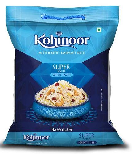 Kohinoor Super Value Authentic Basmati Rice, 5 Kg Pack