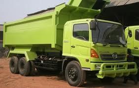 dump truk tronton hino ranger surabaya