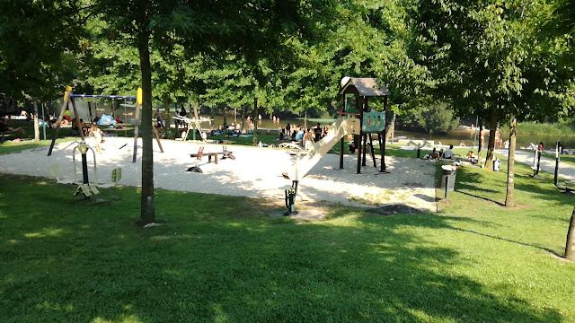 Parque Infantil Praia Fluvial da Loureira