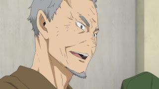 ハイキュー!! アニメ 2期12話 烏養一繋 監督   HAIKYU!!  Ohgiminami high vs Karasuno