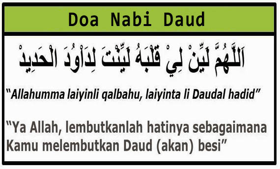 Image result for doa nabi daud