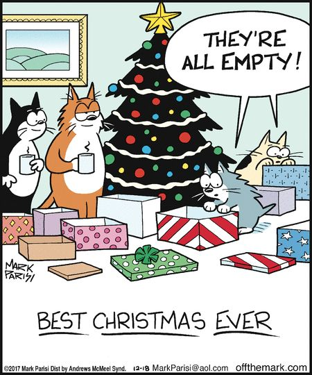 Mystery Fanfare Cartoon Of The Day Best Cat Christmas Ever Christmas tree is an essential attribute of christmas and new year. best cat christmas ever