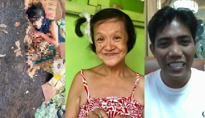 Francis Leo Marcos still helped old lady sleeping under the rain