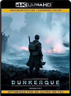 Dunkirk (2017)4K UHD HDR Latino [GoogleDrive]