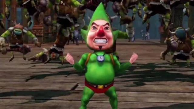 Tingle de Zelda iba a tener su propio videojuego de terror