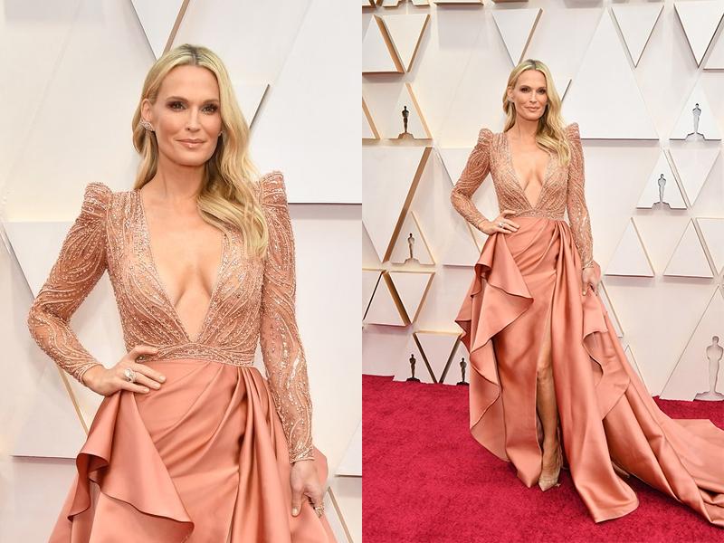 Molly Sims The Oscars 2020