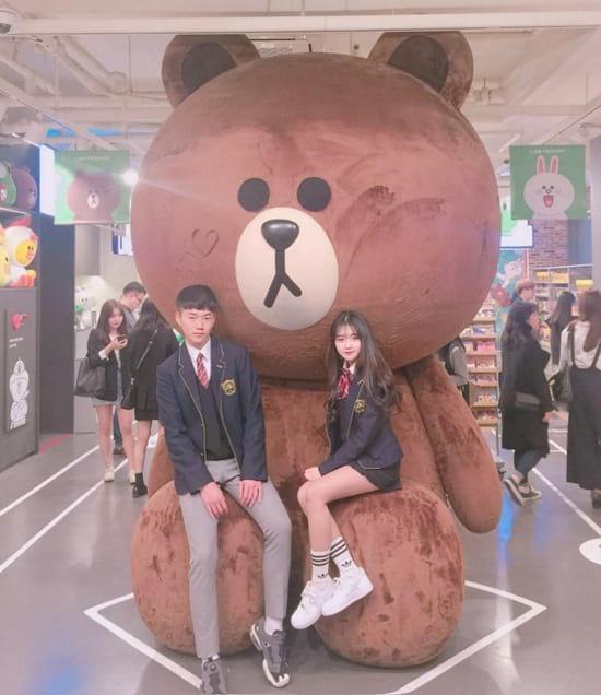 Đồng phục học sinh đẹp Hàn Quốc