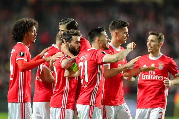 Benfica regressou a os treinos esta segunda