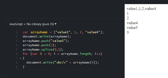 JSFiddle Example and Output