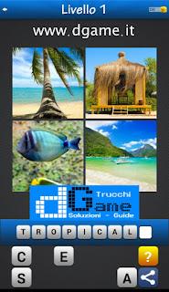 PACCHETTO 7 Soluzioni Trova la Parola - Foto Quiz con Immagini e Parole livello 1