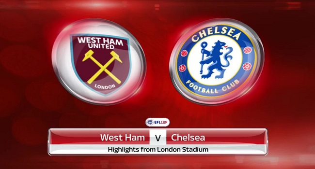 live streaming west ham vs chelsea 9 desember 2017