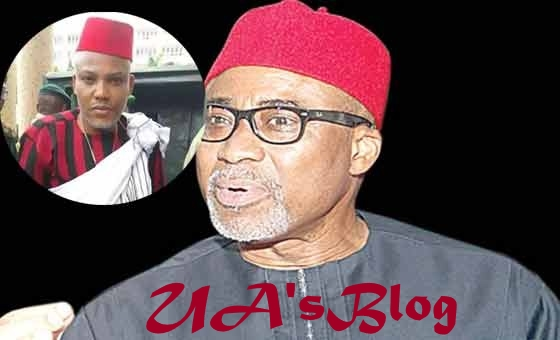 Attack On Sen. Ekweremadu : Nnamdi Kanu's Surety, Abaribe Blows Hot, Warns IPOB