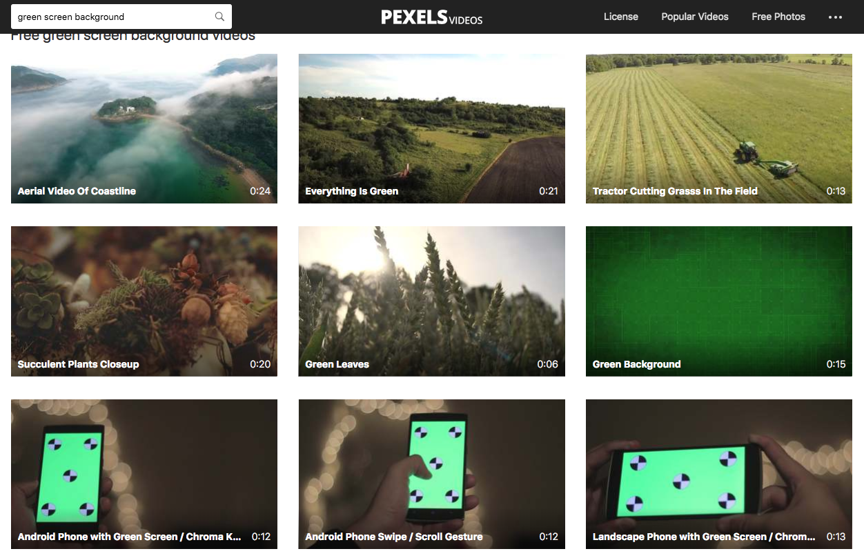 Free Technology for Teachers: Try Pexels Videos to Find