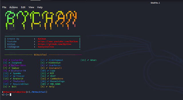 yapımcı ByCh4n  tool BCHackTool by darkcyberweb