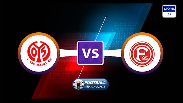 Mainz 05 vs Fortuna Düsseldorf – Highlights