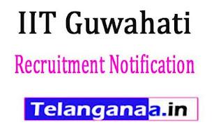 IIT Guwahati Recruitment Notification 2017
