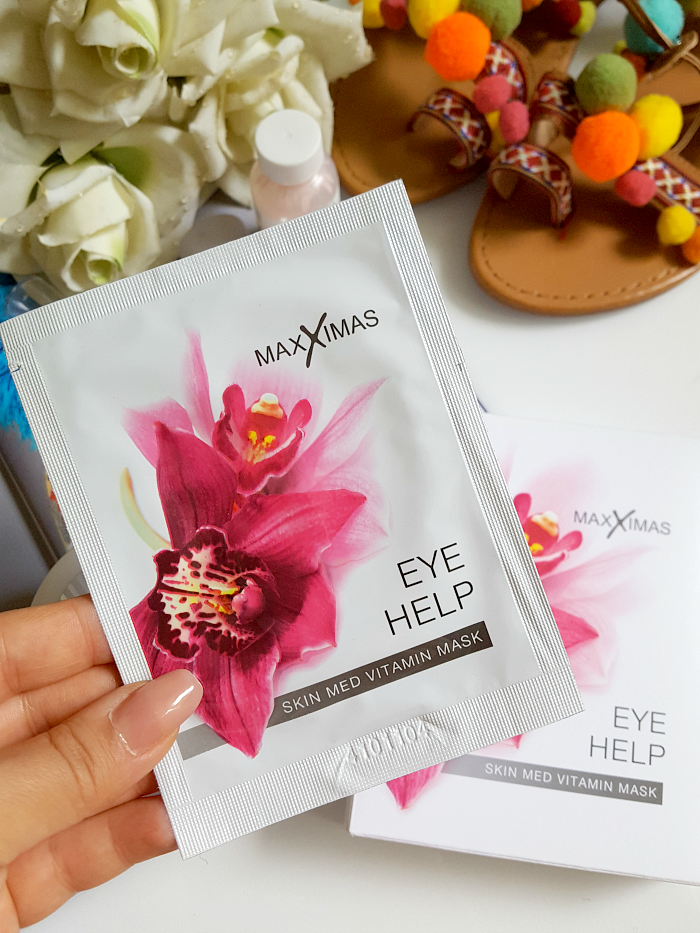 MAXXIMAS Eye Help Skin Med Vitamin Mask - 7 Paar - 31.10 Euro  - Madame Keke The Luxury Beauty and Lifestyle Blog