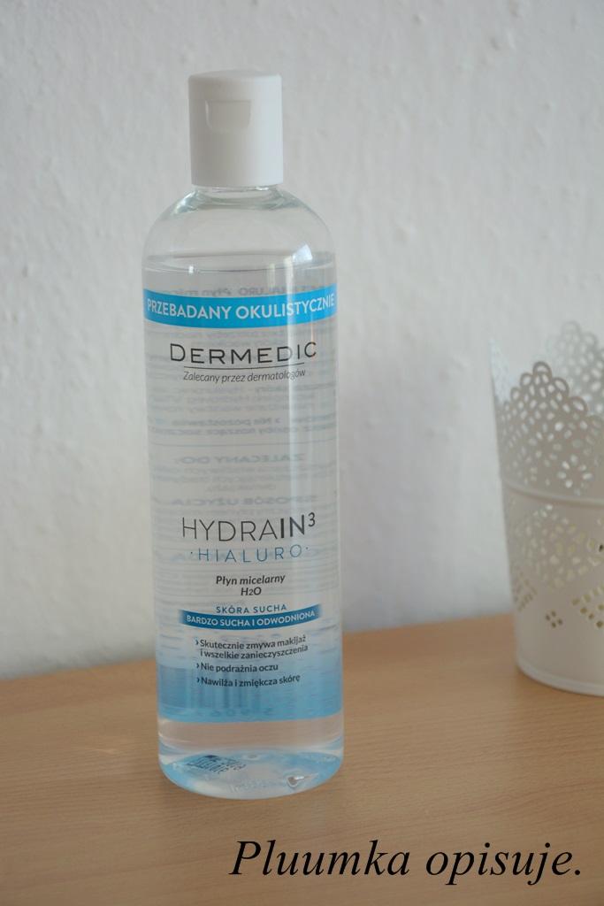 Dermedic - Hydrain 3 Hialuro, plyn micelarny.