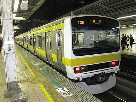 【中央線グリーン車導入で消滅へ!】総武緩行線の立川行き