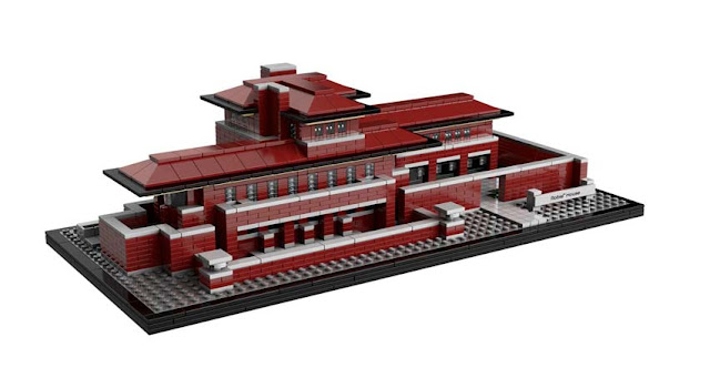 Green Pear Diaries - Lego architecture Robie House