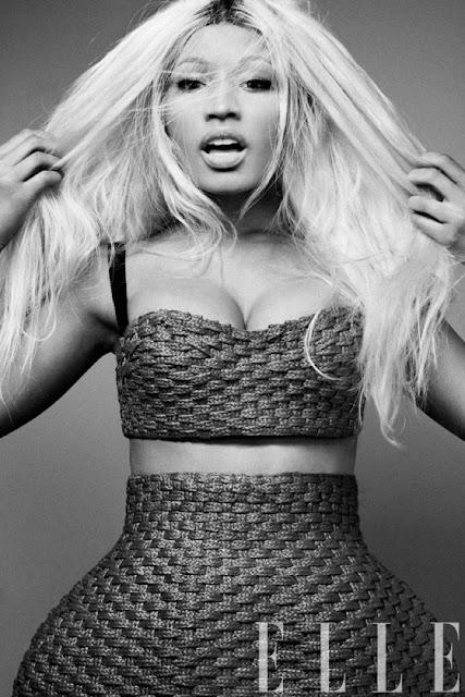 Nicki Minaj elle shoot