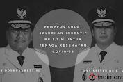 Pemprov Sulut Salurkan Insentif Rp 1,3 M untuk Tenaga Kesehatan Covid-19