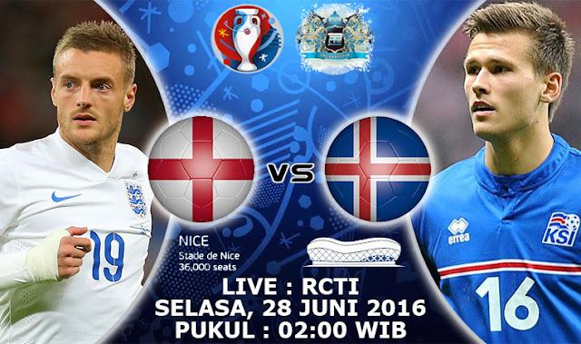 TV ONLINE RCTI Live Streaming Euro 2016: Live Score Video Gol Hasil Inggris Vs Islandia Prediksi Skor Jadwal Piala Eropa 2016