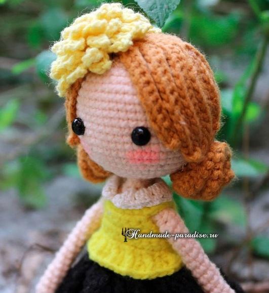 Подружки. Куколки амигуруми крючком (2)