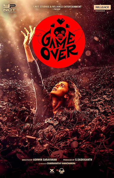 Poster of Game Over (2019) Full Movie [Hindi-DD5.1] 720p HDRip ESubs Download