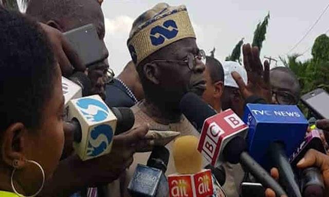 Edo Election: I''ll speak at the appropriate time - Tinubu