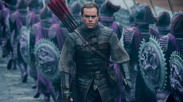"Matt Damon no trailer do épico de monstros ""A Grande Muralha"""
