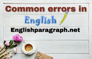 Search results for : Common errors in english