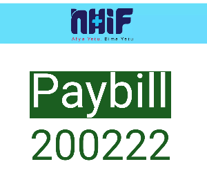 NHIF Paybill number 200222