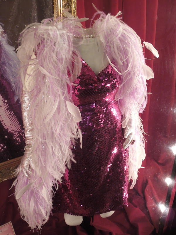 Miss Piggy fuchsia sequin dress