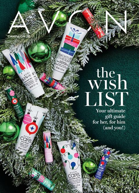 #Avon Campaign 26 2019 Brochure - THE #WISH LIST!