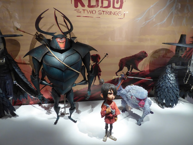 Kubo and Two Strings stop-motion puppets